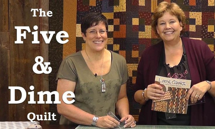 Five and Dime Quilt (5 and 10 inch squares) Video Tutorial from Missouri Quilt Comppany