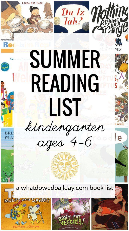 1b0723ae3f235e6c377d799158a2065e - Kindergarten Reading List
