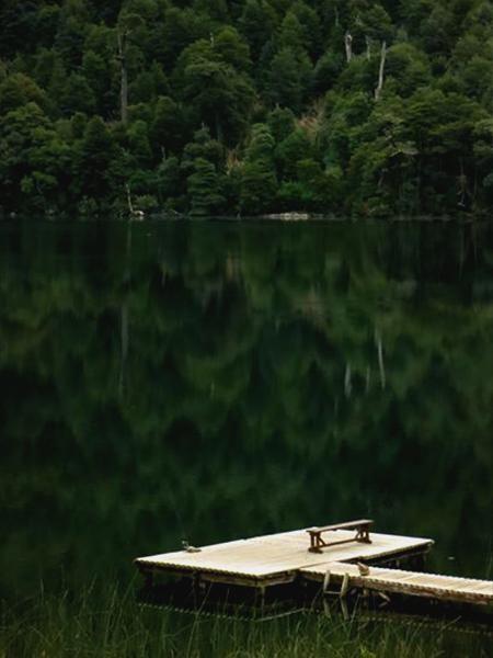 Tinquilco Lake, Los Lagos Trail Huerquehue National Park  #Pucon #LetsGoHiking pic.twitter.com/OuUzW2DxEr