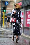Cтрасти по Италии: главные образы гостей Недели моды в Милане. Часть 2 | Glamour.ru