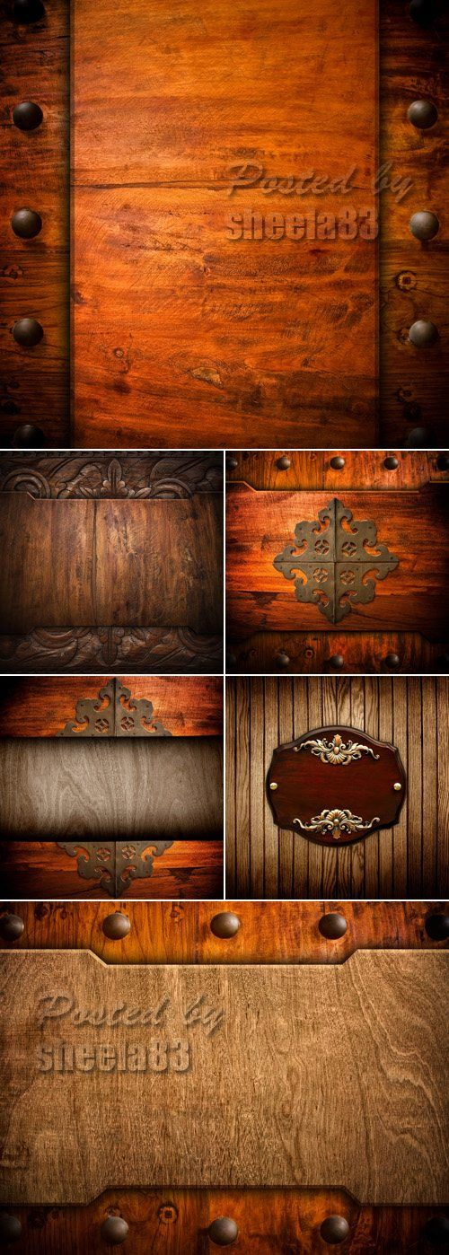 Stock Photo - Vintage Wood Backgrounds 6 JPEG files | up to 5938x5938 | 98,2 MB