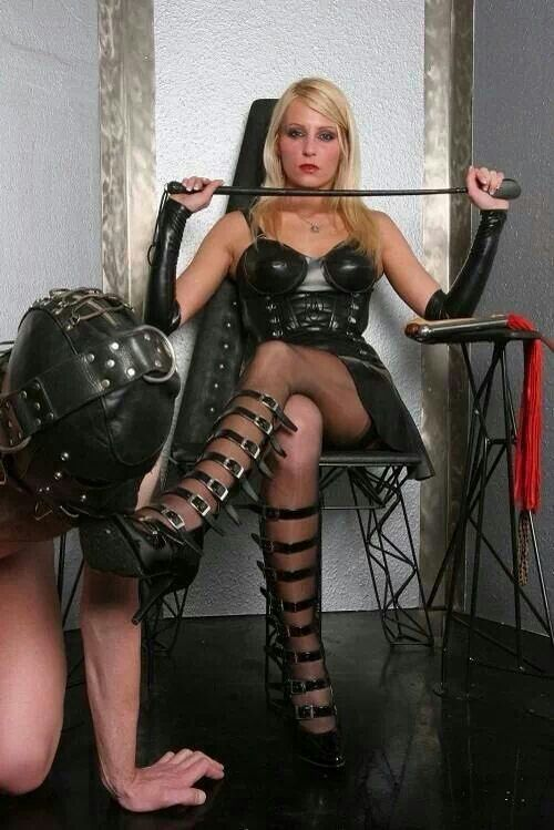 Bold Bossy Girls Experiment With Femdom