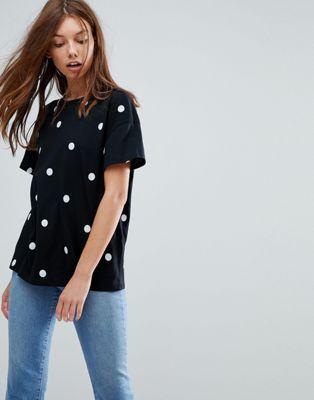 Pimkie Polka Dot T-Shirt
