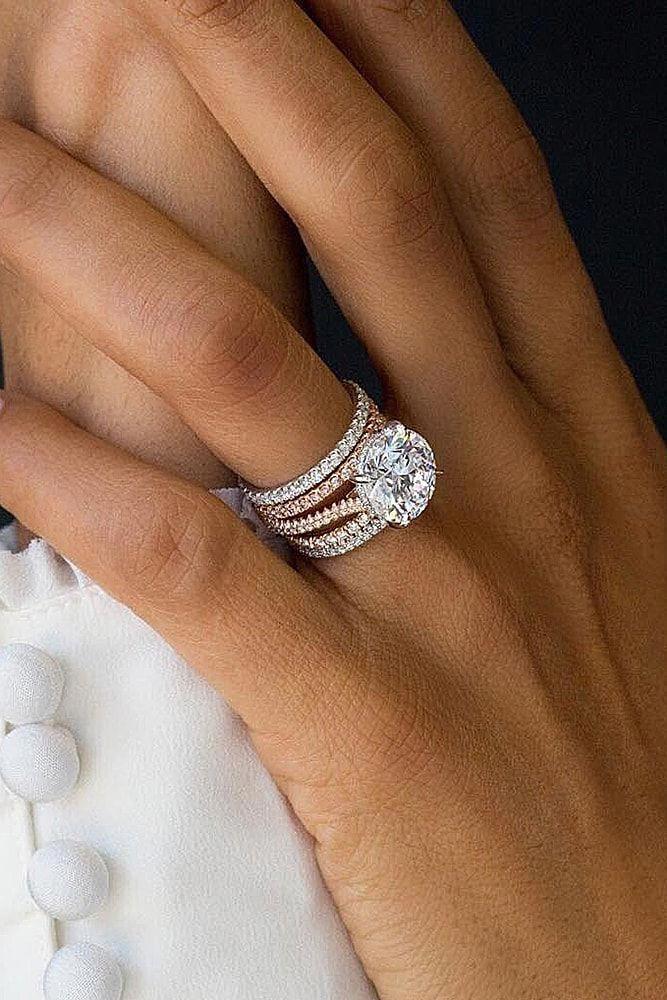 Morganite Ring Rose Gold Engagement Ring Pear Shaped Engagement