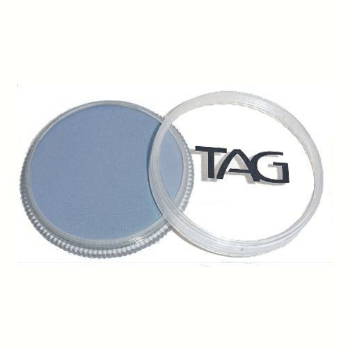 TAG Face Paints - Soft Grey (32 gm) by TAG Body Art. $6.47. Each 32 gram TAG Face Paint Container is good for 50-200 applications.. TAG Face Paint is very easy to blend, soft on the skin and does not crack or peel.. TAG face paint is hypoallergenic and made with non-toxic, skin safe ingredients.. Great for line work. TAG Soft Grey Face Paint is very easy to blend, soft on the skin and does not crack or peel. Most of TAGs face painting colors are great for line work and ligh...