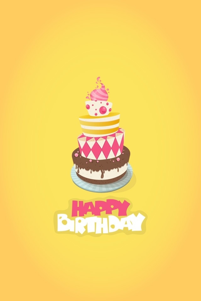 Happy birthday iphone wallpaper Happy Birthday