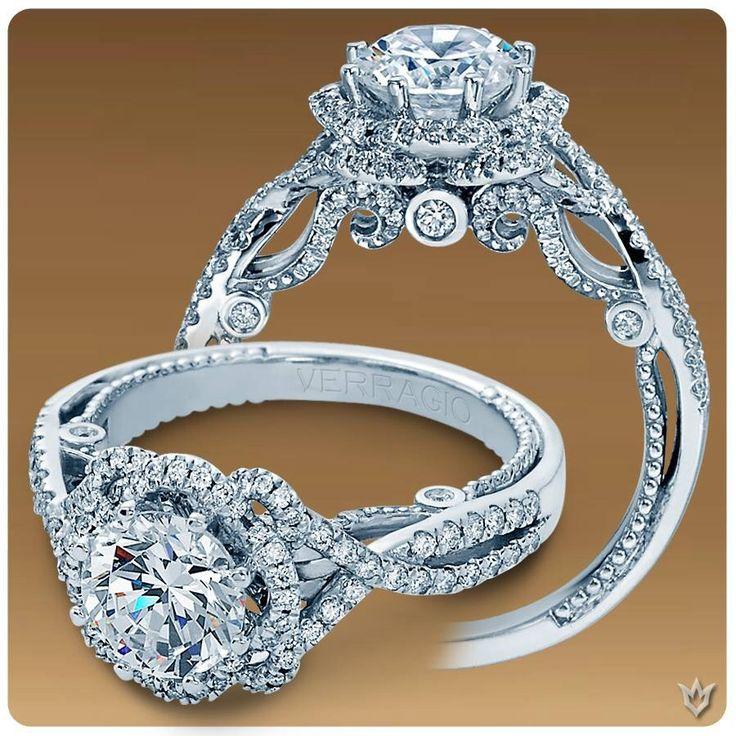 Verragio Engagement and Wedding Rings' beautiful design