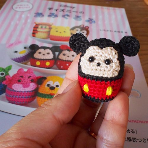 Best 68 Crochet Mickey and Minnie images on Pinterest | Disney ...