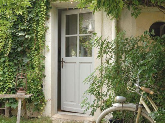 country house door.