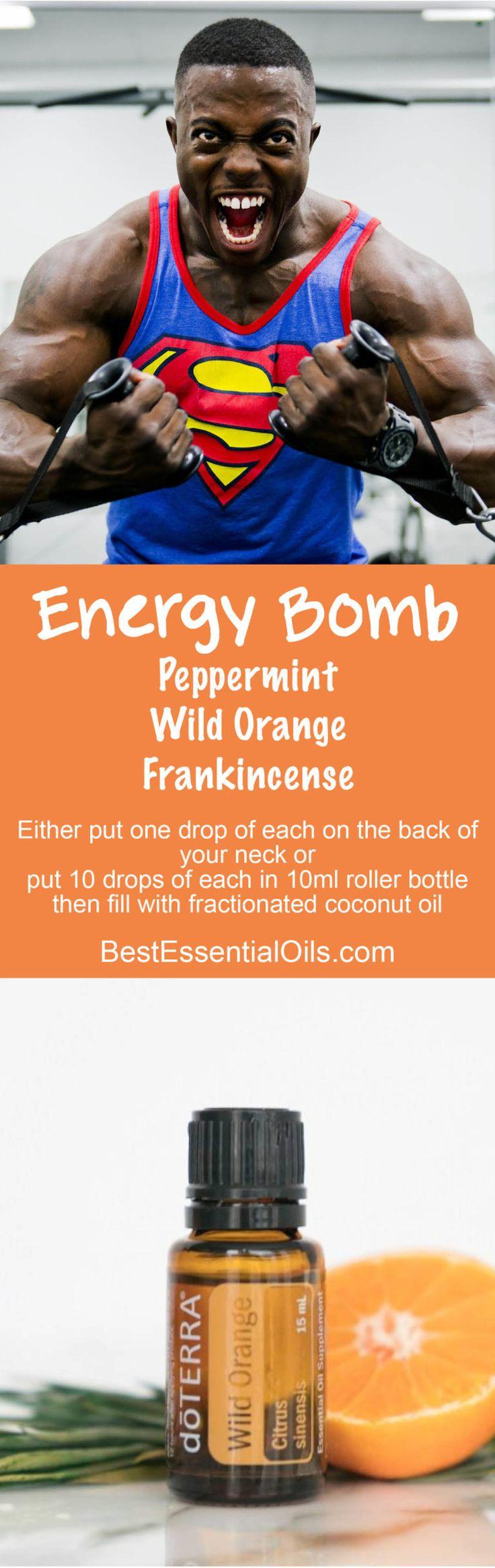 doTERRA Energy Bomb Recipe