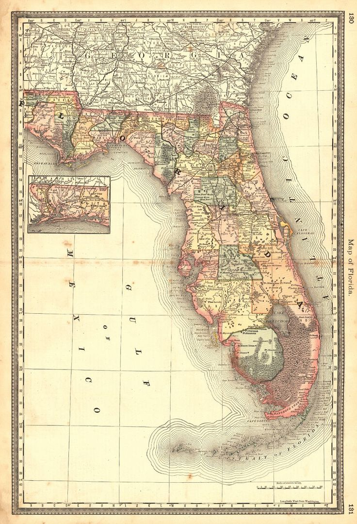Best Ideas About Florida Maps On Pinterest Fla Map Map Of - Map of florida beach towns