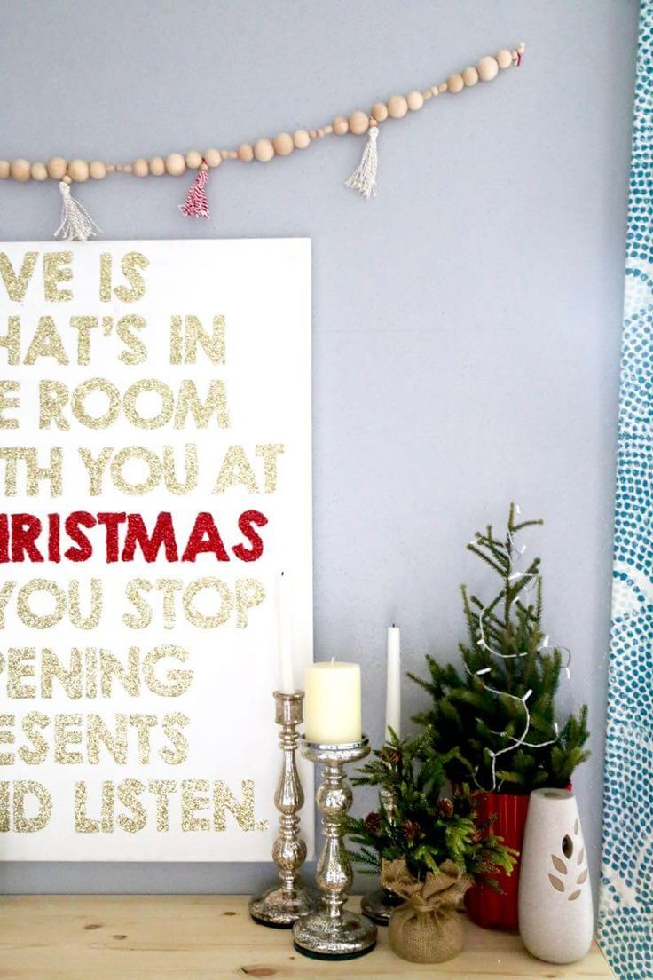 Tips For Distressing Painted Furniture And Home Decor - Charm of vintage christmas – 25 fascinating ideas