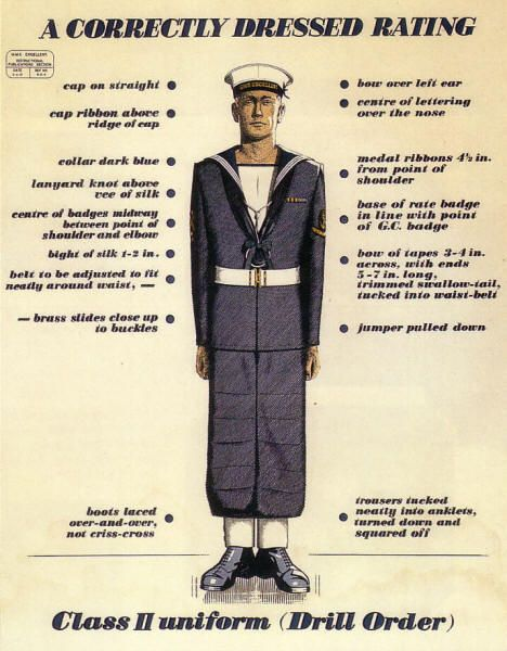navy uniform guidelines