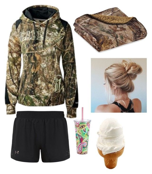 """""""Well y'all... I have mono"""" by harleygrace20 on Polyvore featuring Under Armour, Vera Bradley and Realtree"""