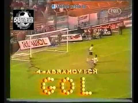 Boca Jrs 3 vs Racing 1 Copa Libertadores 1989 en Velez FUTBOL RETRO TV - YouTube