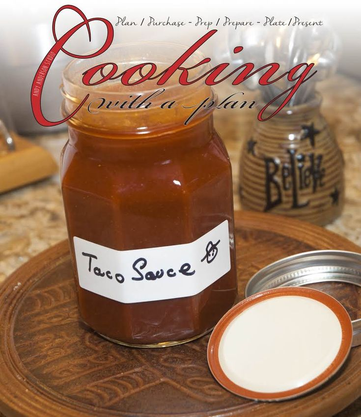 Mexican Essentials: Homemade Taco Sauce #justapinchrecipes