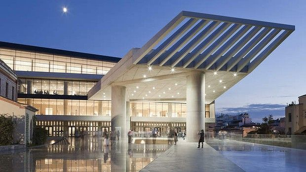 The New Acropolis Museum Athens,Greece
