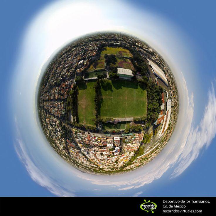 Nueva cancha de Futbol 7 en el Deportivo de los Tranviarios.