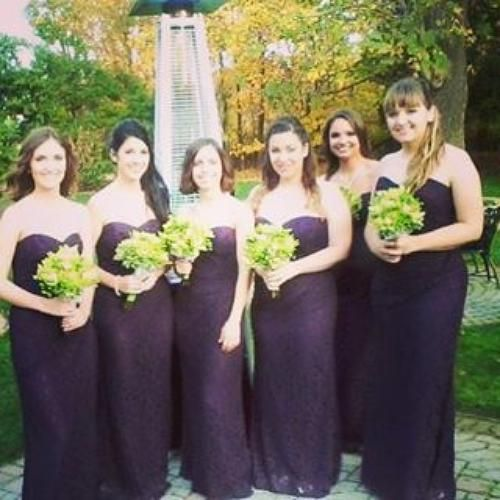 Beautiful weekend with amazing friends.  #bridalparty #bridesmaids #shadowbrook #fallwedding #happiness #davidsbridal #gown #beauty #glam #goodvibes #celebration | Shared via davidsbridal.com