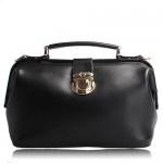 Alana Black Leather Handbag $219.95 FREE SHIPPING WITHIN AUSTRALIA available online at sterlingandhyde.com.au