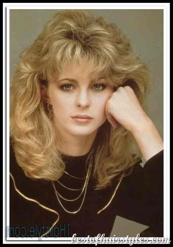 80 S Hairstyles For Women 80s Hairstyles Curly Women