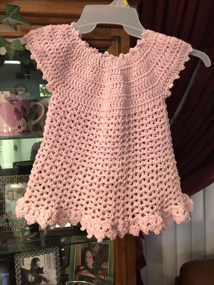 Crochet toddler dress 18 months  Pattern inspired by The Crochet Crowd