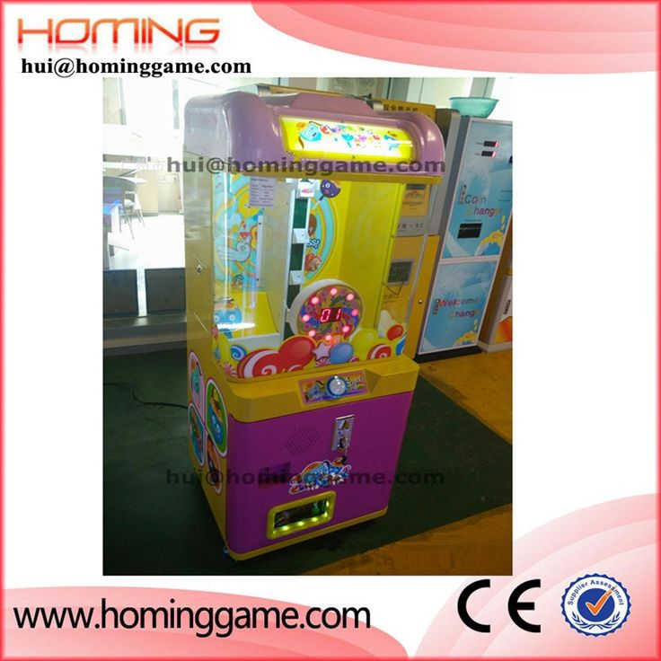 Best quality best price vending machine / small candy vending prize game machine  hui@hominggame.com Type:Small candy prize vending machine,Small crane game machine,candy machine for children,Standard export packing ,prize vending machine,vending machine,game machine,coin operated game machine,arcade game machine