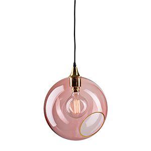 CASANOVA Møbler — Design By Us - BallRoom pendel - rose med guld kant