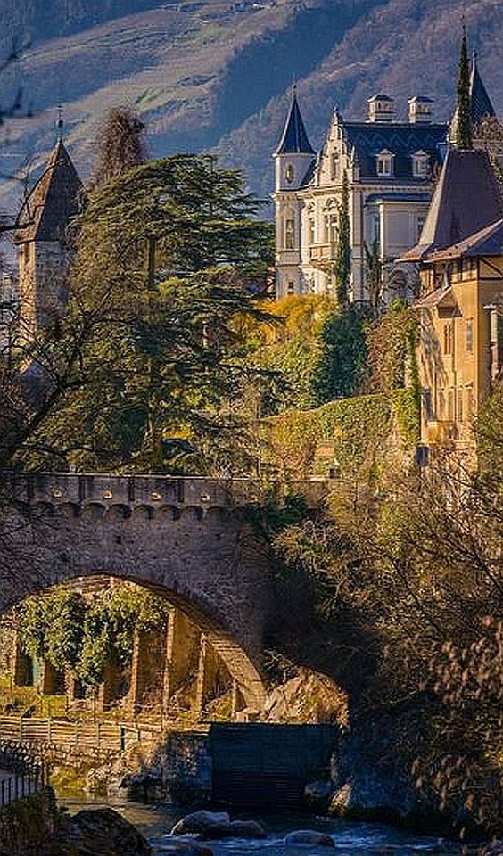 ITALY -- Old Castle in Merano #by Alexander Ko -- 500px.com