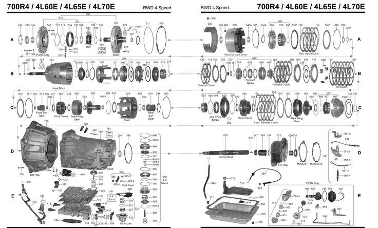 4l60e Diagram wiring diagrams schematics Auto trans