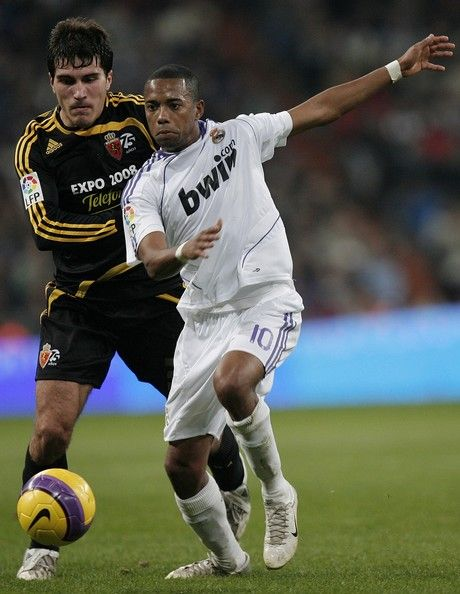 Robinho Real Madrid v Real Zaragoza - La Liga 2008
