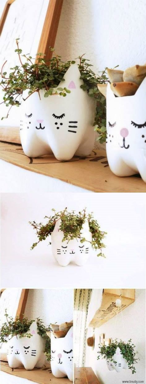 Best 20 plastic bottle art ideas on pinterest recycle for Things to make out of glass