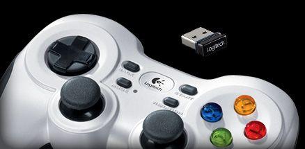 Wireless Gamepad Logitech F710, Gamers Wajib Punya!