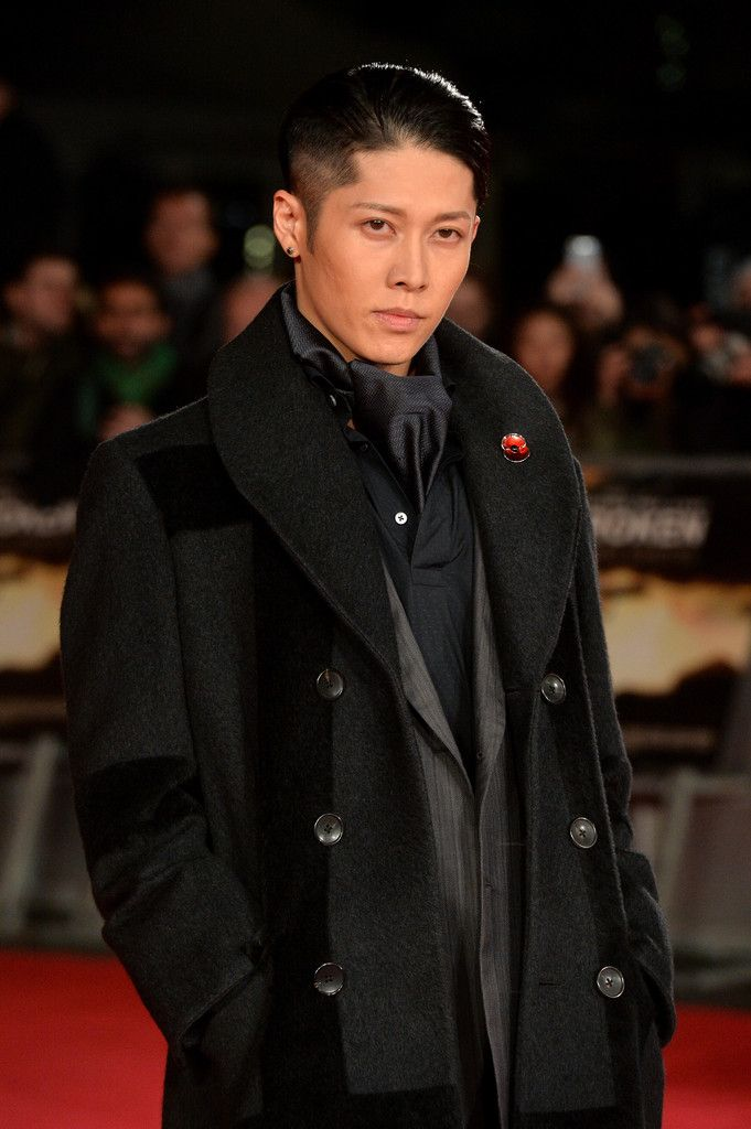 Miyavi Has a Standout Moment at Unbroken London Premiere in Ermenegildo Zegna Couture image Miyavi Ermenegildo Zegna Couture 002