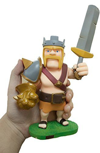 New COC Clash of Clans Game Barbarian King 6' Toy Figure New in Box