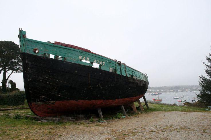 Cette photo du «Mad-Atao» à Lampaul-Plouarzel (Finistère), par exemple, a permis d'illustrer la page Wikipédia consacrée à ce bateau, qui ne montrait jusque là aucune image. Elle a reçu le prix spécial «du monument illustré pour la première fois».