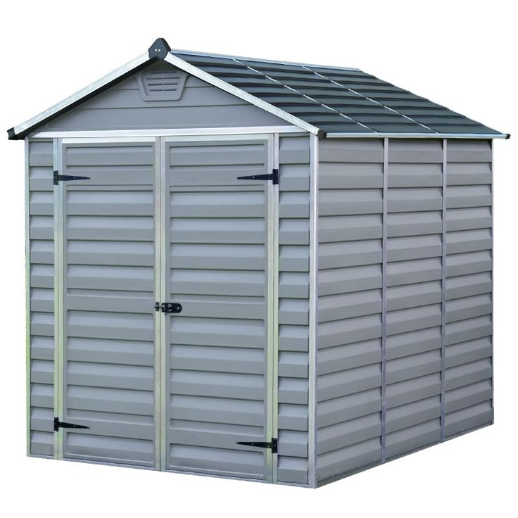 the palram skylight shed is a truly impressive garden shed that offers you plenty of storage space for all of your garden essentials - Garden Sheds 6 X 2