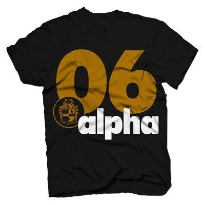 Alpha Phi Alpha Golden T shirt by LineupBoutique on Etsy