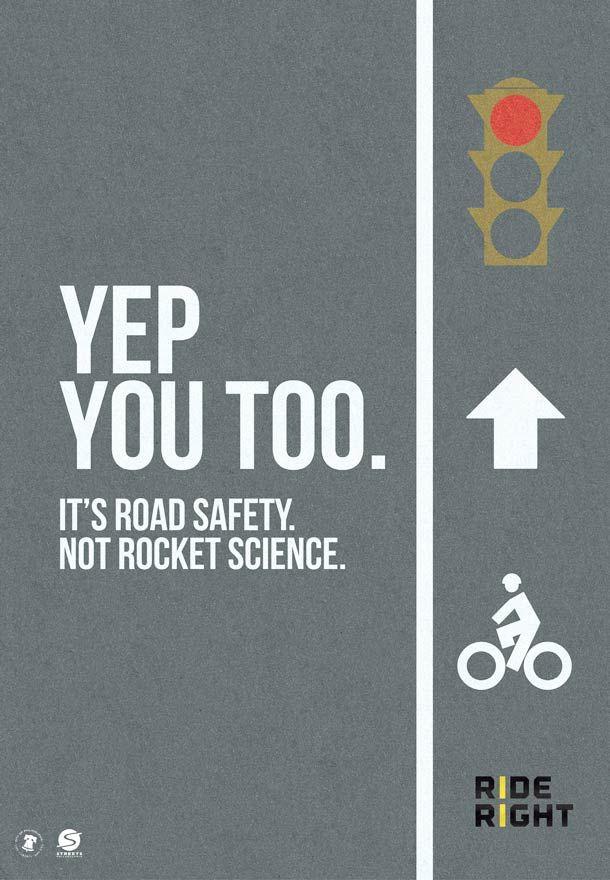 It's road safety – Jolie campagne de sécurité routière