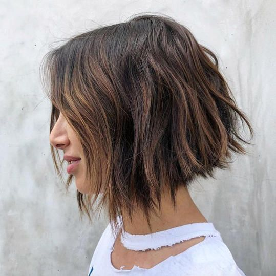 The Best Short Bob Hairstyles To Try In 2020 Because It S Just Time For A Chop Thick Hair Styles Short Hair Styles For Round Faces Bob Hairstyles For Thick