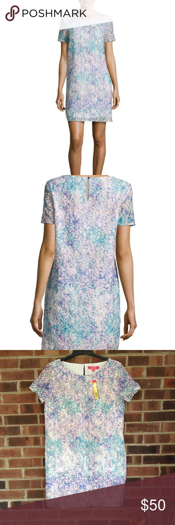 NWT Catherine Malandrino bronwyn shift dress Sz 6 Brand new with tag. Catherine Catherine Malandrino Bronwyn floral embroidered shift dress. Bateau neckline, button keyhole back. Short sleeve. Perfect for spring, Easter and summer. Smoke and pet free home. Fast shipping. Catherine Malandrino Dresses