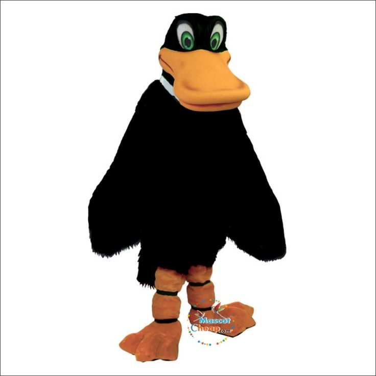 Duck mascot costume hot sale online with images mascot
