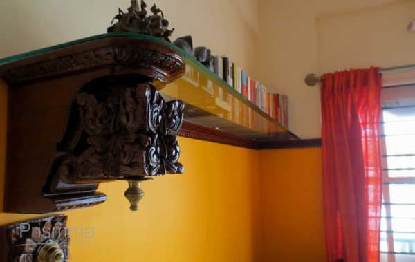 carved bookshelf dsign ARCHAANA34