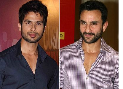 Saif Ali Khan: There Were No Issues With Shahid Kapoor!