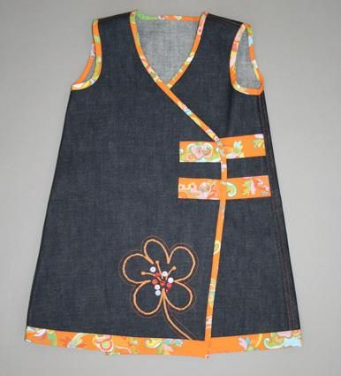 Elna - Global website - Sewing ideas - NEW - Sewing - GIRL'S PLAY SMOCK (2-4 years)