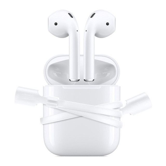 I-Phone7 AirPods Wireless Headset Headset Anti Lost Lanyard Silicone Ear Loop Strap Phone Cables