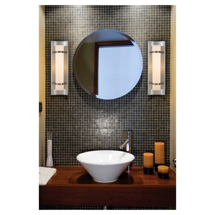 Colin Collection by Feiss  1 Light Sconce 9 best Bathrooms images on Pinterest   Bath light  Bathroom light  . Bathroom 1 Light Sconces. Home Design Ideas