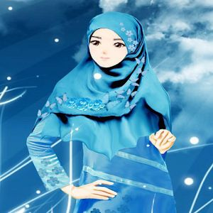 muslimah wallpaper - Google Search | Hijab cartoon, Anime ...