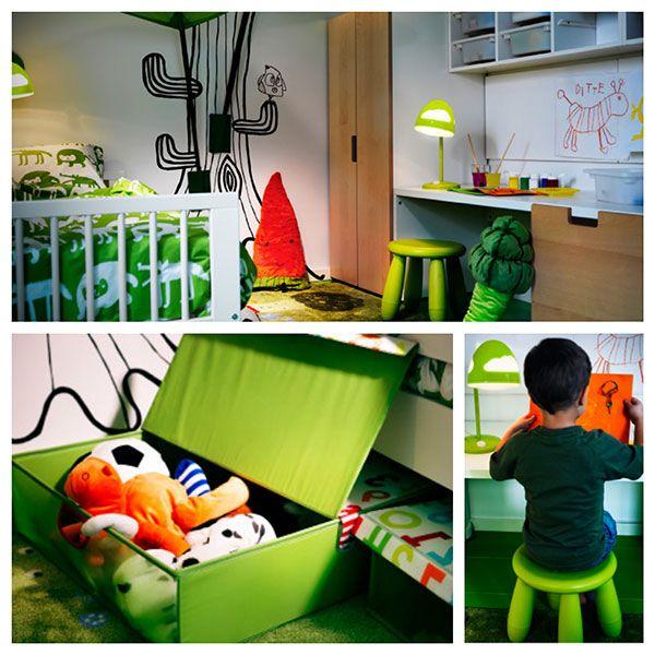 Habitacion infantil ni o ikea pintandounamama - Habitaciones infantiles en ikea ...