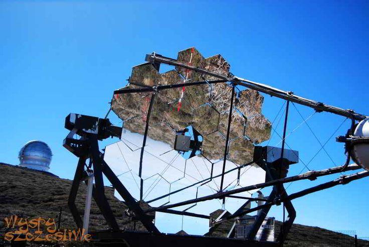 Obserwatorium astrofizyczne Roque de los Muchachos na wyspie #LaPalma